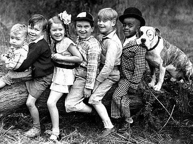petey the pit bull and the little rascals